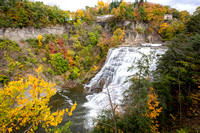 Ithaca Falls in Fall.